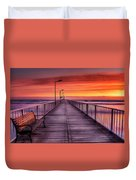 Mamaia's Gangway Duvet Cover