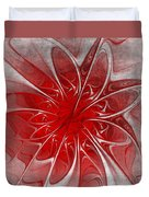 Red And Black  -f D- Duvet Cover
