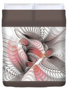 Red And Brown Duvet Cover