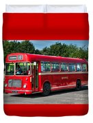 Red And White Rs 167 - Bristol Resl6l #1 Duvet Cover