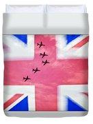 Red Arrows Flag Duvet Cover