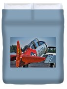 Red At-6 Duvet Cover