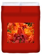 Red Azaleas Orange Azalea Flowers 9 Floral Giclee Art Prints Baslee Troutman Duvet Cover