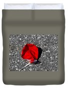 Red Balloon II Duvet Cover