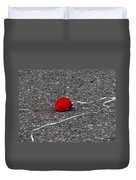 Red Balloon IIi Duvet Cover
