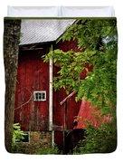 Red Barn 1 Duvet Cover