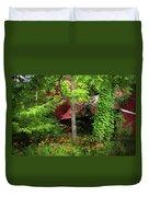 Red Barn 2 Duvet Cover