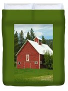 Red Barn Montana Duvet Cover