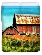 Red Barn No.1 Duvet Cover