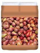Red Bartlett Pears Duvet Cover