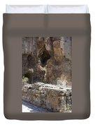 Red Basilica Scene 4 Duvet Cover