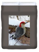 Red Bellied Woodpecker 5 Duvet Cover