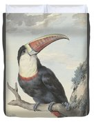 Red Billed Toucan, 1748  Duvet Cover