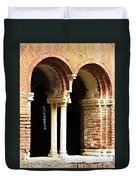 Red Brick Archway Soft Duvet Cover