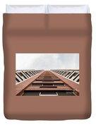 Red Brick Road Duvet Cover