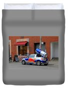 Red Bull Car Duvet Cover