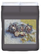 Red Cabbages And Onions Paris, October - November 1887 Vincent Van Gogh 1853  1890 Duvet Cover