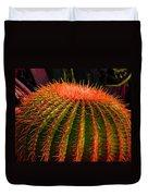 Red Cactus Duvet Cover