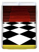 Red Carpet Treatment Duvet Cover