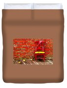 Red Chair  Duvet Cover