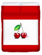 Red Cherry Duvet Cover