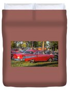 Red Chevy  Duvet Cover