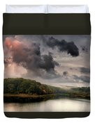 Red Cloud Duvet Cover