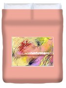 Red Convertable Duvet Cover by Snake Jagger