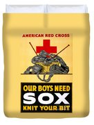 Red Cross Poster, C1917 Duvet Cover