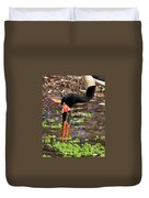 Red-crowned Crane Duvet Cover