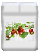 Red Currant Duvet Cover