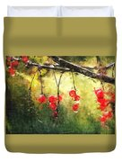 Red Currants Duvet Cover