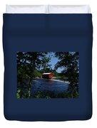 Red Dam In Summer #2 Duvet Cover