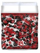 Red Devil U - V1cbs36 Duvet Cover