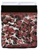 Red Devil U - V1lw64 Duvet Cover