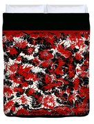 Red Devil U - V1vhkf100 Duvet Cover