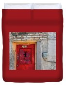 Red Door 325  Duvet Cover