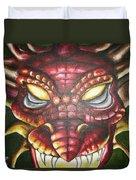 Red Dragon Duvet Cover