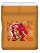 Red Dragon Duvet Cover
