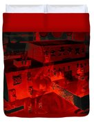Red Dream Duvet Cover