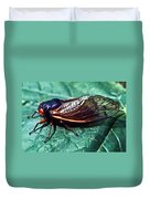 Red Eyed Cicada Duvet Cover