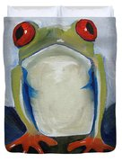 Red Eyed Tree Frog Duvet Cover