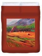 Red Farm Duvet Cover