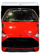 Red Fiesta Mk7.5 Duvet Cover