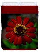 Red Flower 8 Duvet Cover