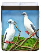 Red Footed Booby #255, Duvet Cover