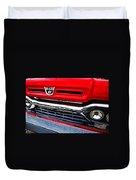 Red Ford Pickup Duvet Cover