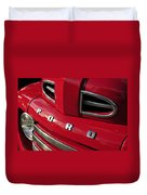 Red Ford Truck Duvet Cover