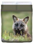 Red Fox Morph Duvet Cover