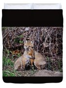 Red Fox Pictures 65 Duvet Cover